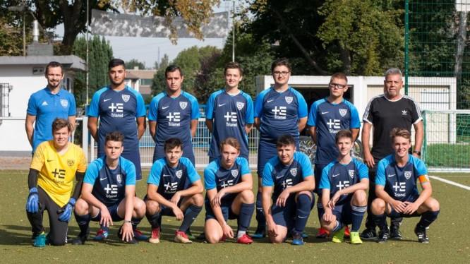 Mannschaftsfoto A1-Junioren (Saison 2019/2020)