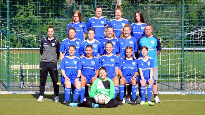 Mannschaftsfoto Zweite Damen (Saison 2021/2022)