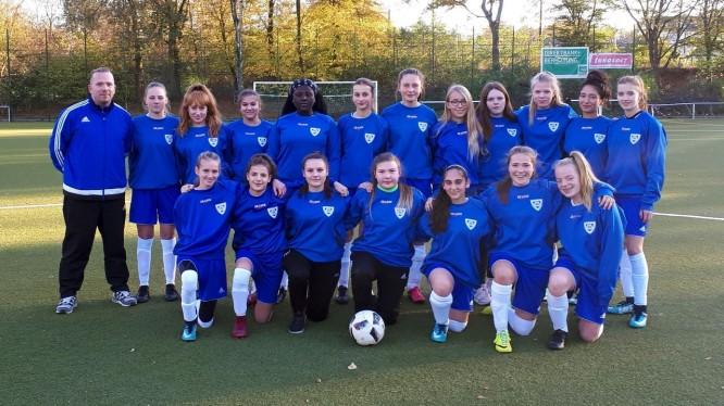 Mannschaftsfoto U17-Juniorinnen (Saison 2018/2019)