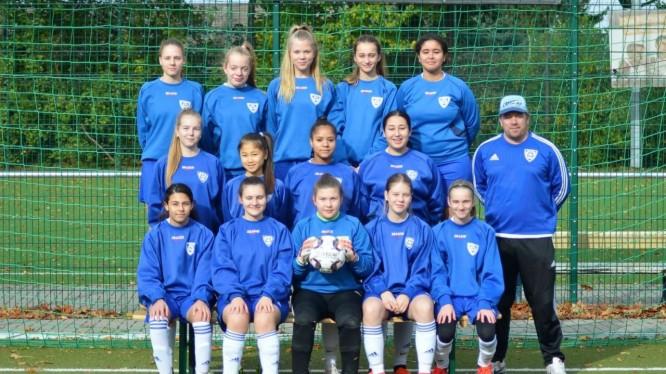 Mannschaftsfoto B-Juniorinnen (Saison 2019/2020)