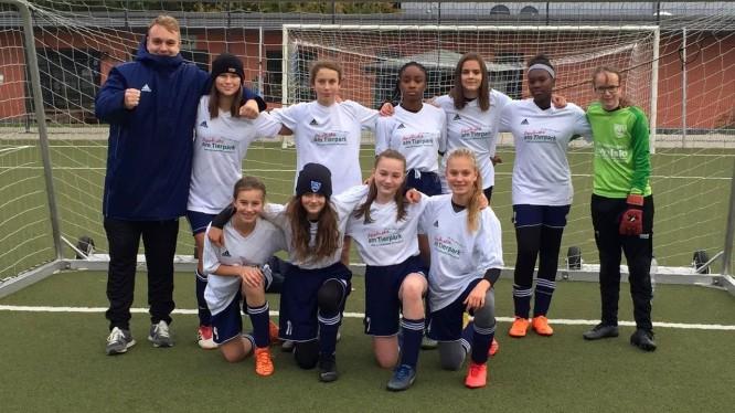 Mannschaftsfoto C-Juniorinnen (Saison 2019/2020)