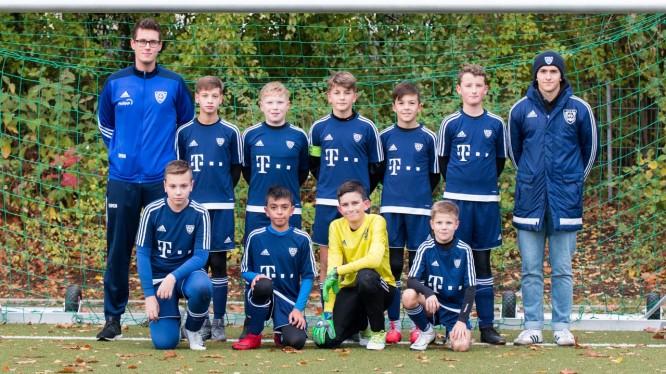 Mannschaftsfoto D1-Junioren (Saison 2018/2019)