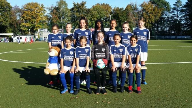 Mannschaftsfoto U13-Juniorinnen (Saison 2018/2019)