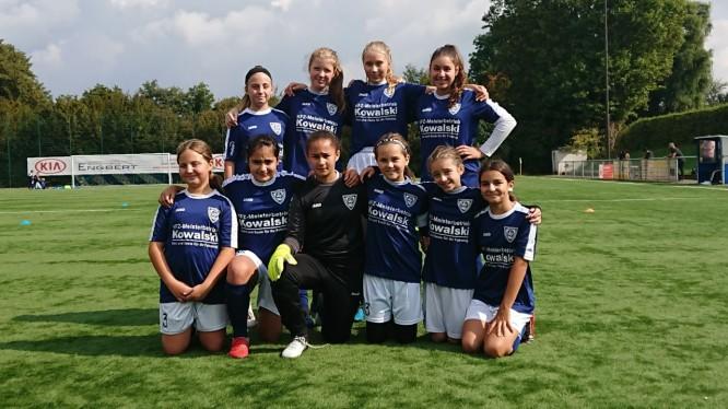 Mannschaftsfoto D-Juniorinnen (Saison 2019/2020)