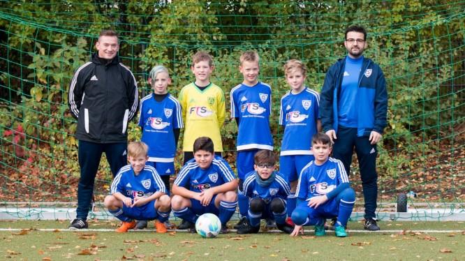 Mannschaftsfoto E1-Junioren (Saison 2018/2019)