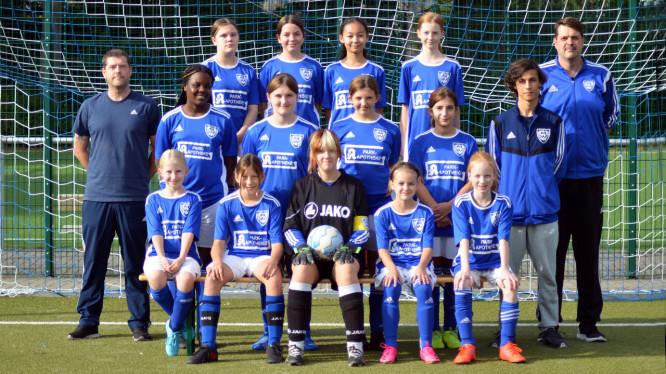 Mannschaftsfoto D-Juniorinnen (Saison 2021/2022)