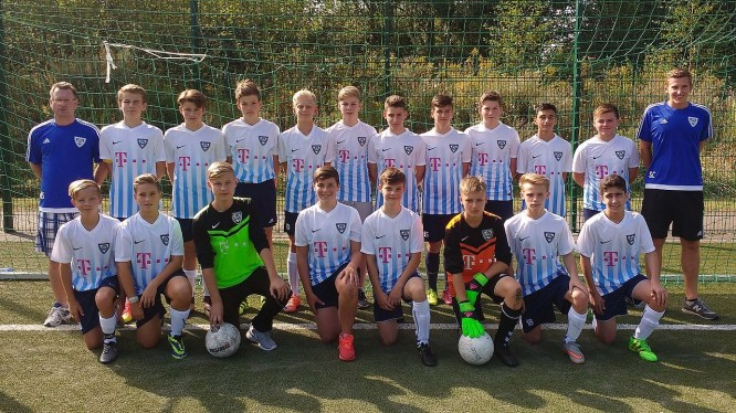 Mannschaftsfoto C1-Junioren (Saison 2016/2017)
