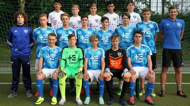 Mannschaftsfoto B1-Junioren (Saison 2017/2018)