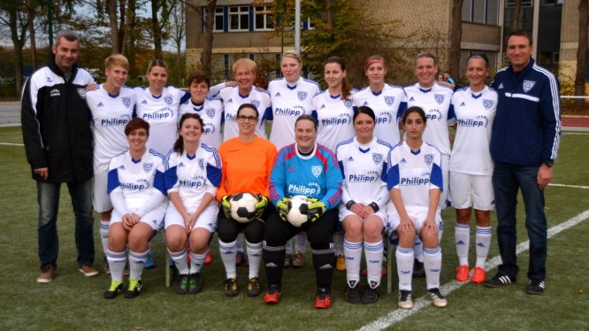 Mannschaftsfoto 1. Damen (Saison 2014/2015)