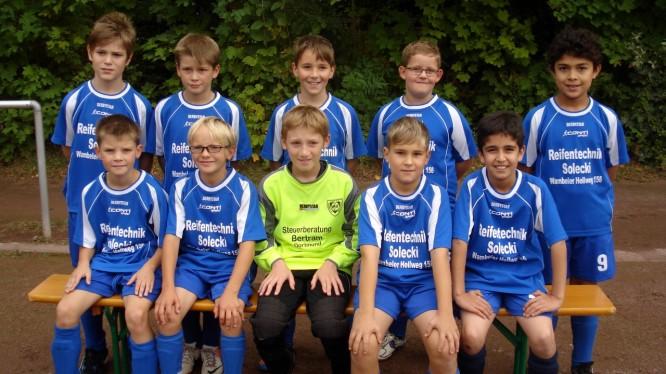 Mannschaftsfoto Jahrgang 2002 (Saison 2012/2013)