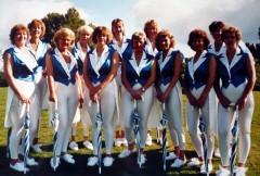 """Gruppenfoto der WAMBRAs bei der """"Sommerbühne 1993"""""""