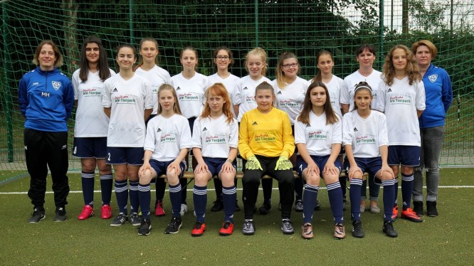 Mannschaftsfoto U15-Juniorinnen (Saison 2017/2018)
