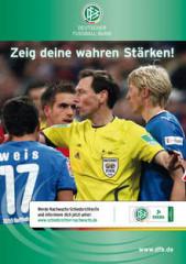Nachwuchskampagne Schiedsrichter - Zeig deine wahren Stärken