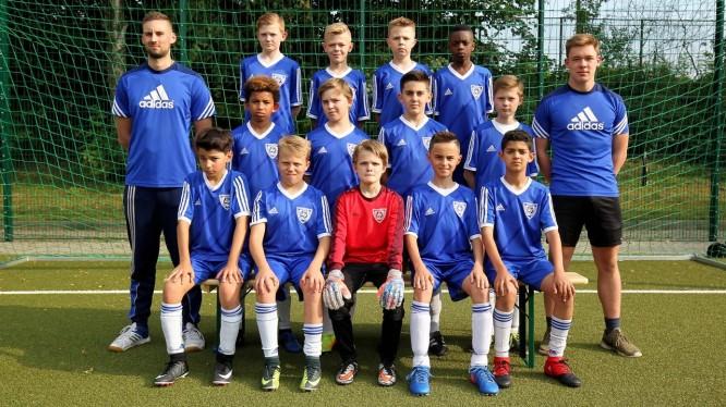 Mannschaftsfoto D1-Junioren (Saison 2017/2018)