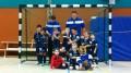 Mannschaftsfoto Minikicker beim Turnier in Holzwickede