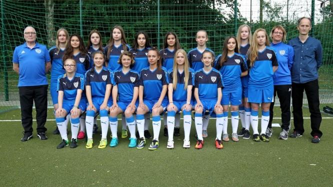 Mannschaftsfoto U17-Juniorinnen (Saison 2017/2018)