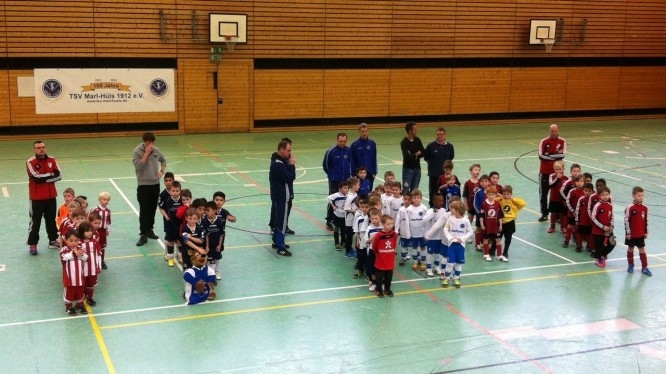 Fußball G-Jugend: Hallenturnier TSV Marl-Hüls