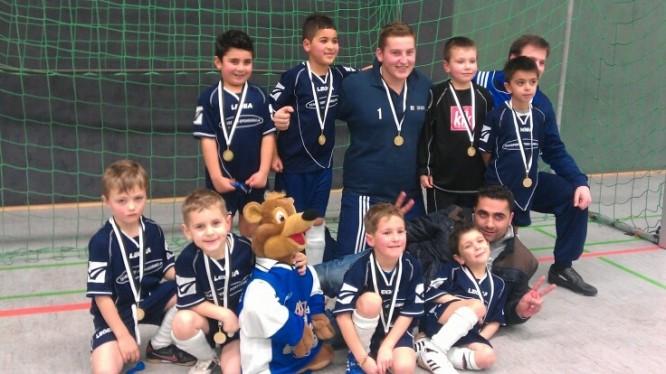 Fussball Jahrgang 2006 - Turniersieg in Weddinghofen 2013