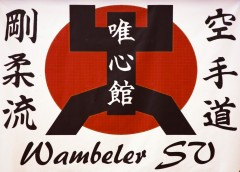 Karate - Fahne - Wambeler SV