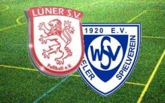 Fußballbegegnung: Lüner SV - Wambeler SV