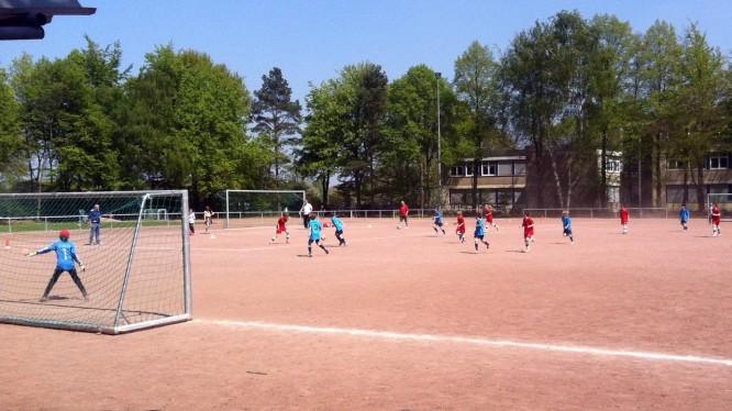 Meisterschaftsspiel E-Jugend: Wambeler SV - DJK SF Nette II
