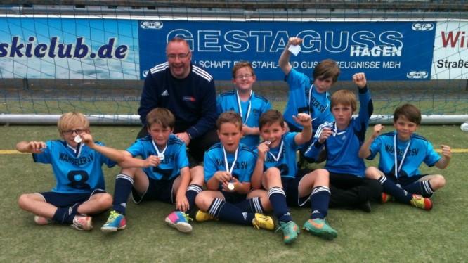 E-Jugend Turniersieger 2013 beim TSV Fichte Hagen