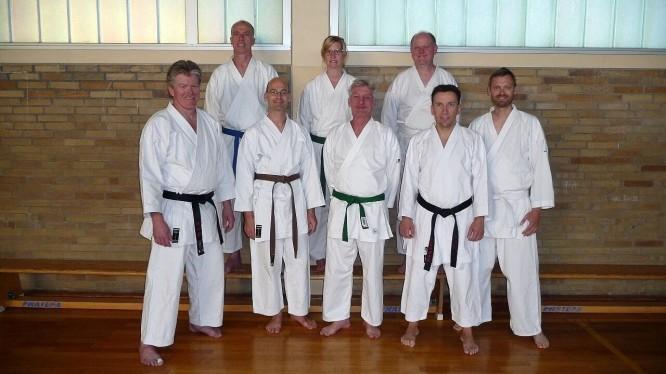 Mitglieder des Dojo 2013 des WSV