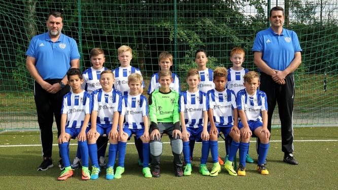 Mannschaftsfoto E1-Junioren (Saison 2017/2018)
