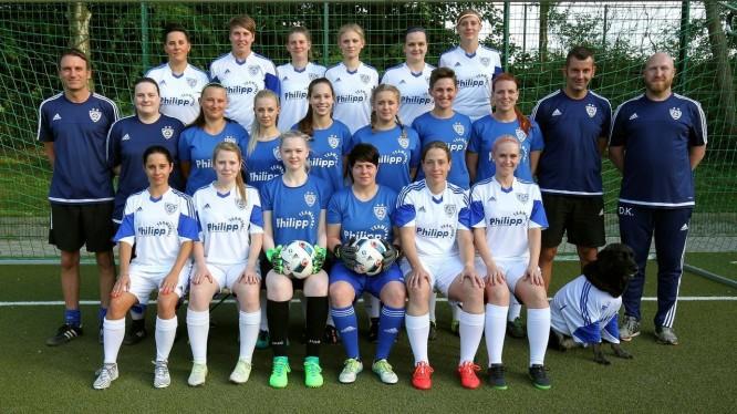 Mannschaftsfoto 1. Damen (Saison 2017/2018)