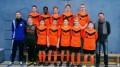 Mannschaftsfoto beim Hallenturnier des SV Alemannia Kamp