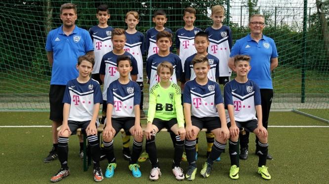 Mannschaftsfoto D3-Junioren (Saison 2017/2018)