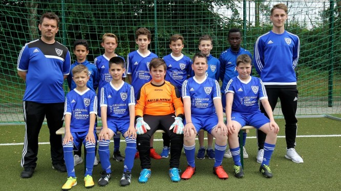 Mannschaftsfoto D4-Junioren (Saison 2017/2018)
