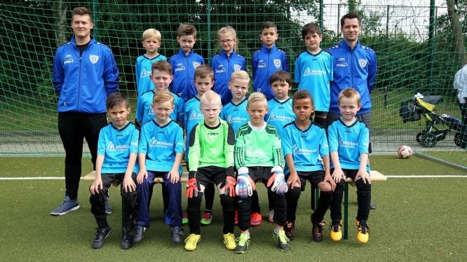 Mannschaftsfoto F2-Junioren (Saison 2017/2018)