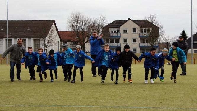 Freundschaftsspiel F-Jugend: SC Arminia Ickern 2 - Wambeler SV