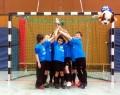 Jahrgang 2005 erreicht 3. Platz beim Hallenturnier des BV Brambauer-Lünen - Pokalfeier