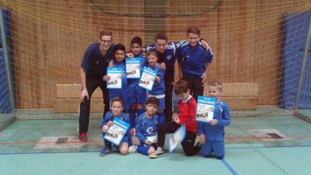 Dortmunder Jugend Hallenfußball-Meisterschaft 2014 - U8 (Jahrgang 2006)
