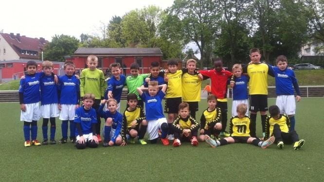 Freundschaftsspiel F-Jugend: SV Westfalia Huckarde - Wambeler SV (15.05.2014)