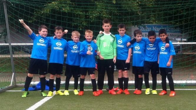 E-Jugendturnier VfB Annen: E2 holt Silberpokal in Witten