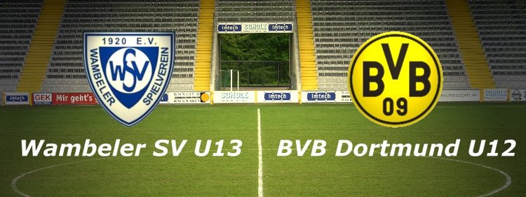 Freundschaftsspiel: Wambeler SV U13 - BV Borussia Dortmund U12 (18.11.2014)