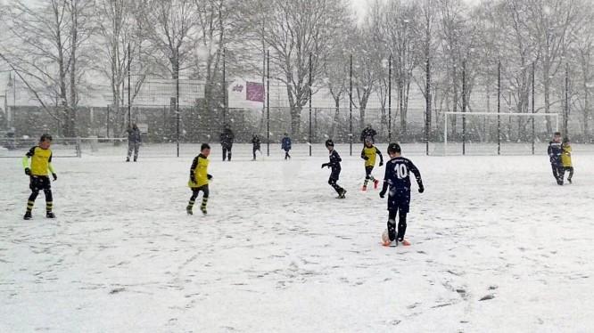 Freundschaftsspiel F-Jugend: Wambeler SV IV - DJK SF Nette III (24.01.2015)