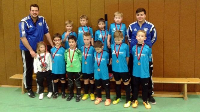 Fußballjahrgang 2007 auf dem Fair-Play-Cup 2015 in Bockum-Hövel