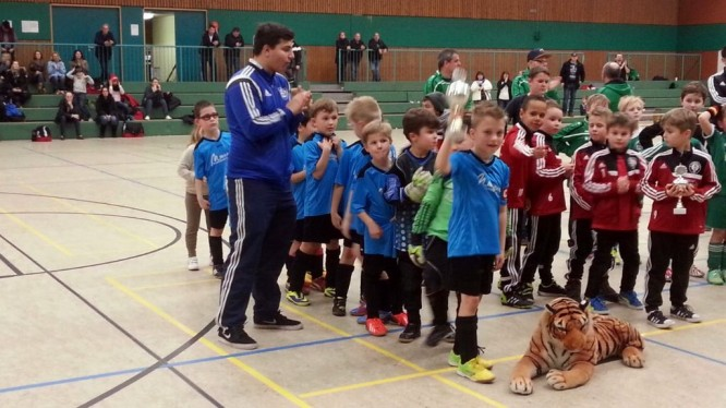 Fußballjahrgang 2007 auf dem Turnier in Holzwickede 2015