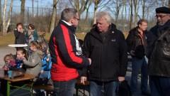 Offizielle Übergabe der Kunstrasenanlage durch Dortmunds Oberbürgermeister Sierau