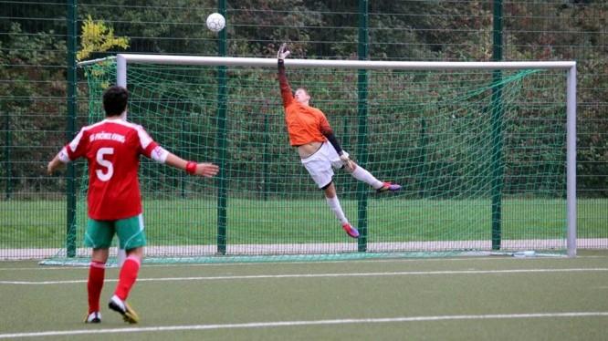 Fußball A-Jugend-Torwart