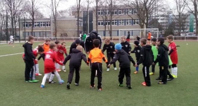 Freundschaftsspiel F-Jugend: Wambeler SV III -  JSG Lünern/Hemmerde (06.03.2015)