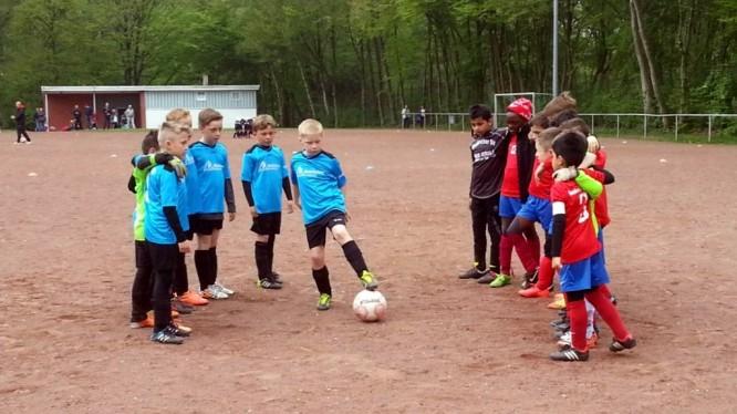 Finalrunde F-Jugend: Hombrucher SV III - Wambeler SV III