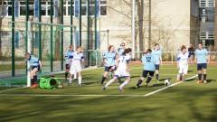 Meisterschaftsspiel Damen: Wambeler SV - SpVg Berghofen III (12.04.2015)