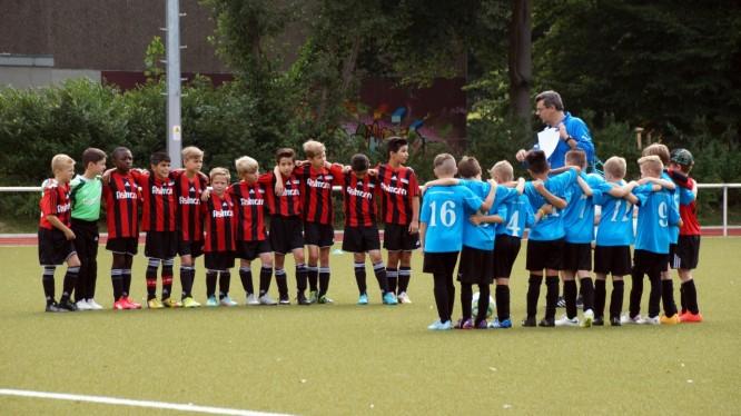 Freundschaftsspiel E-Jugend: Wambeler SV - DJK SF Nette