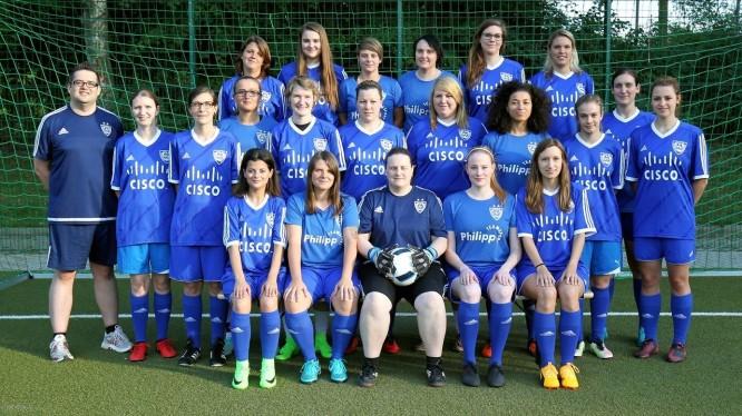 Mannschaftsfoto 2. Damen (Saison 2017/2018)