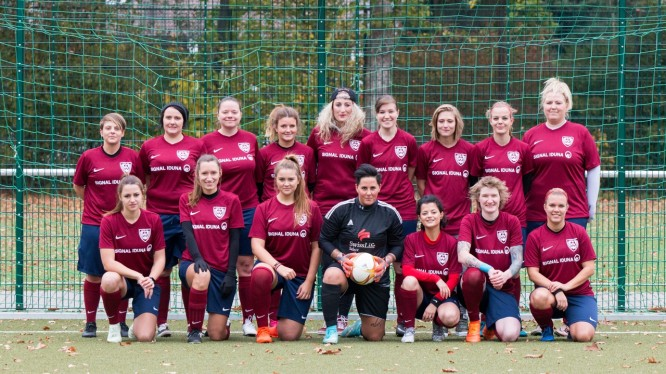 Mannschaftsfoto 2. Damen (Saison 2018/2019)